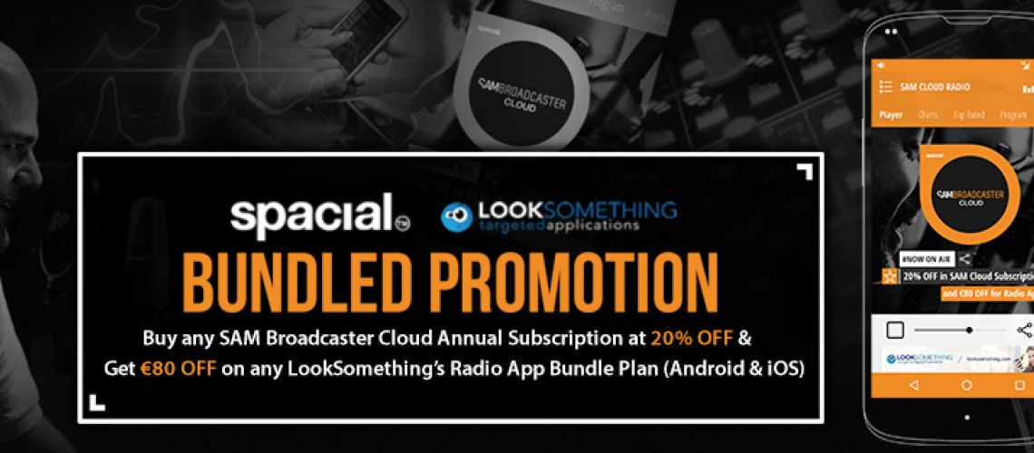 Looksomething & Spacial Bundled Promotion