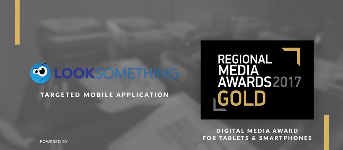 Gold Prize at Regional Media Awards | Looksomething.com